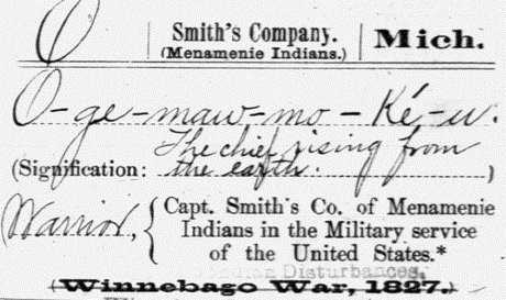 American Indian military record