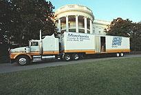 moving van white house