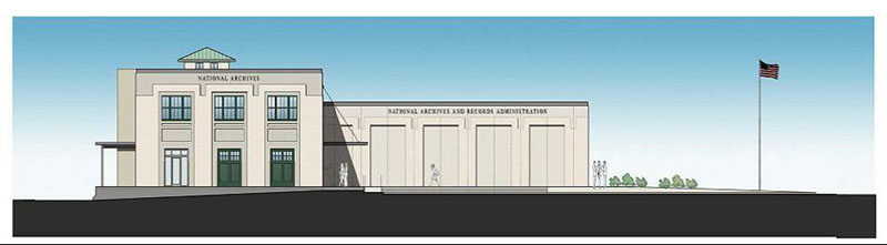 Plan for the National Archives at Kansas City.