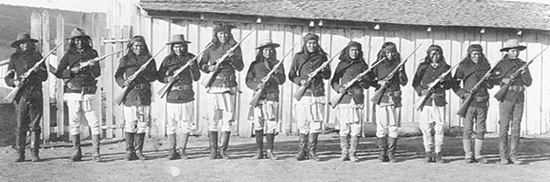 Scouts Apaches