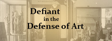 Defiant in the Defense of Art