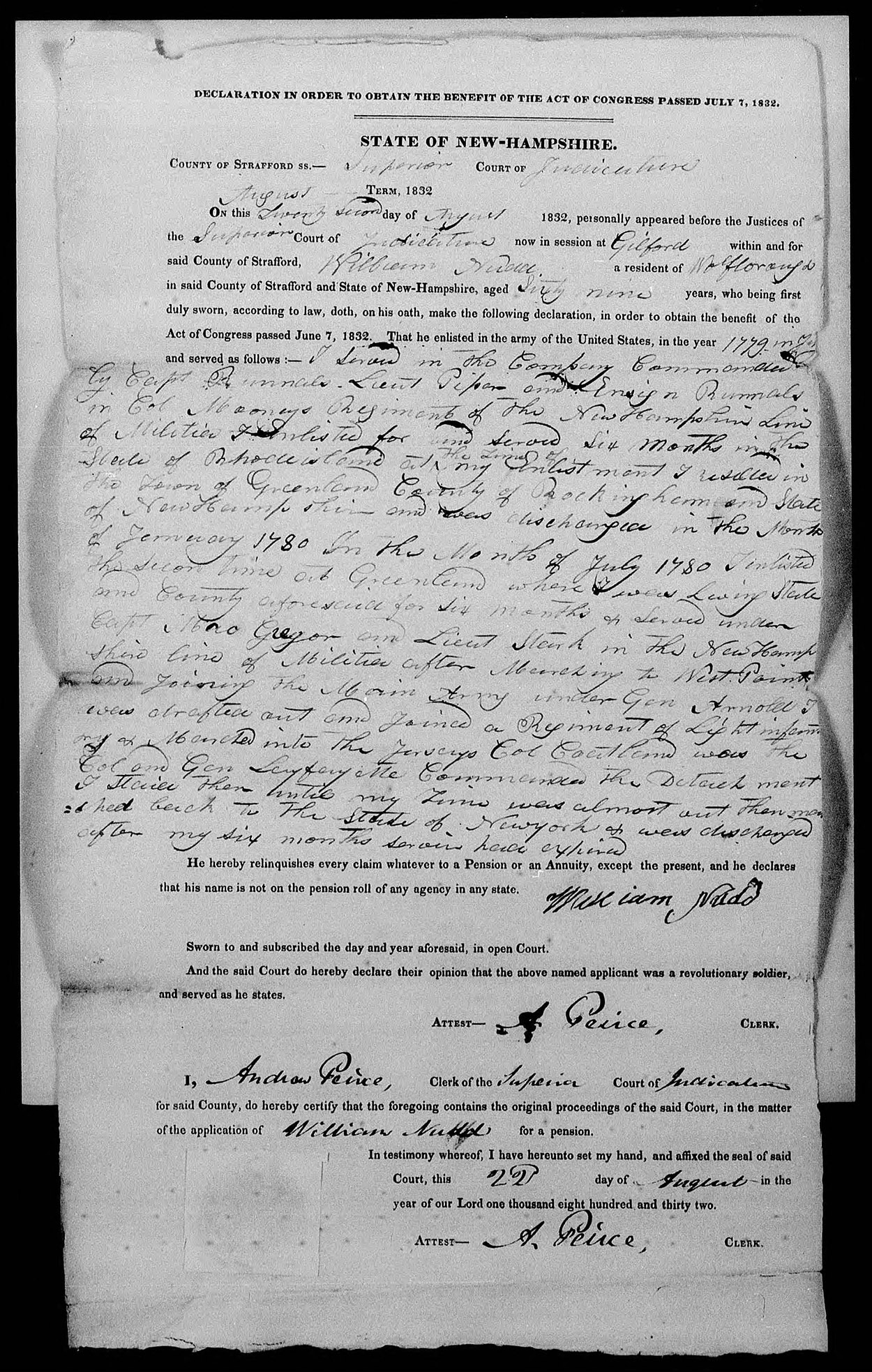 Using Revolutionary War Pension Files To Find Family