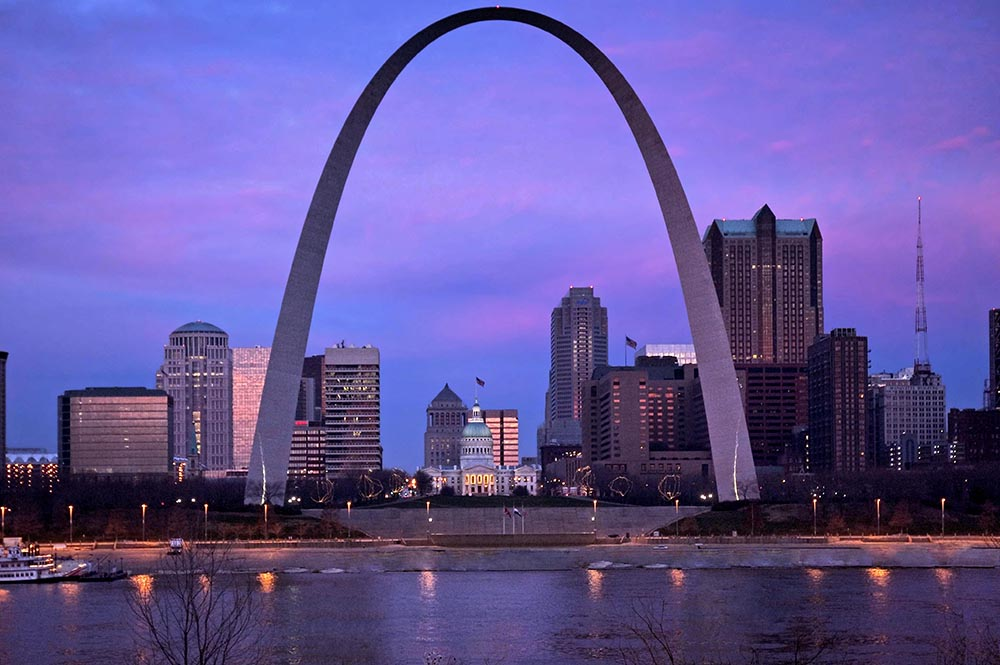 Gateway Arch in St Louis