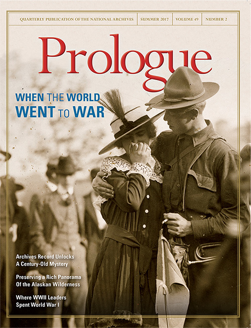 Cover of Summer 2017 issue of Prologue magazine