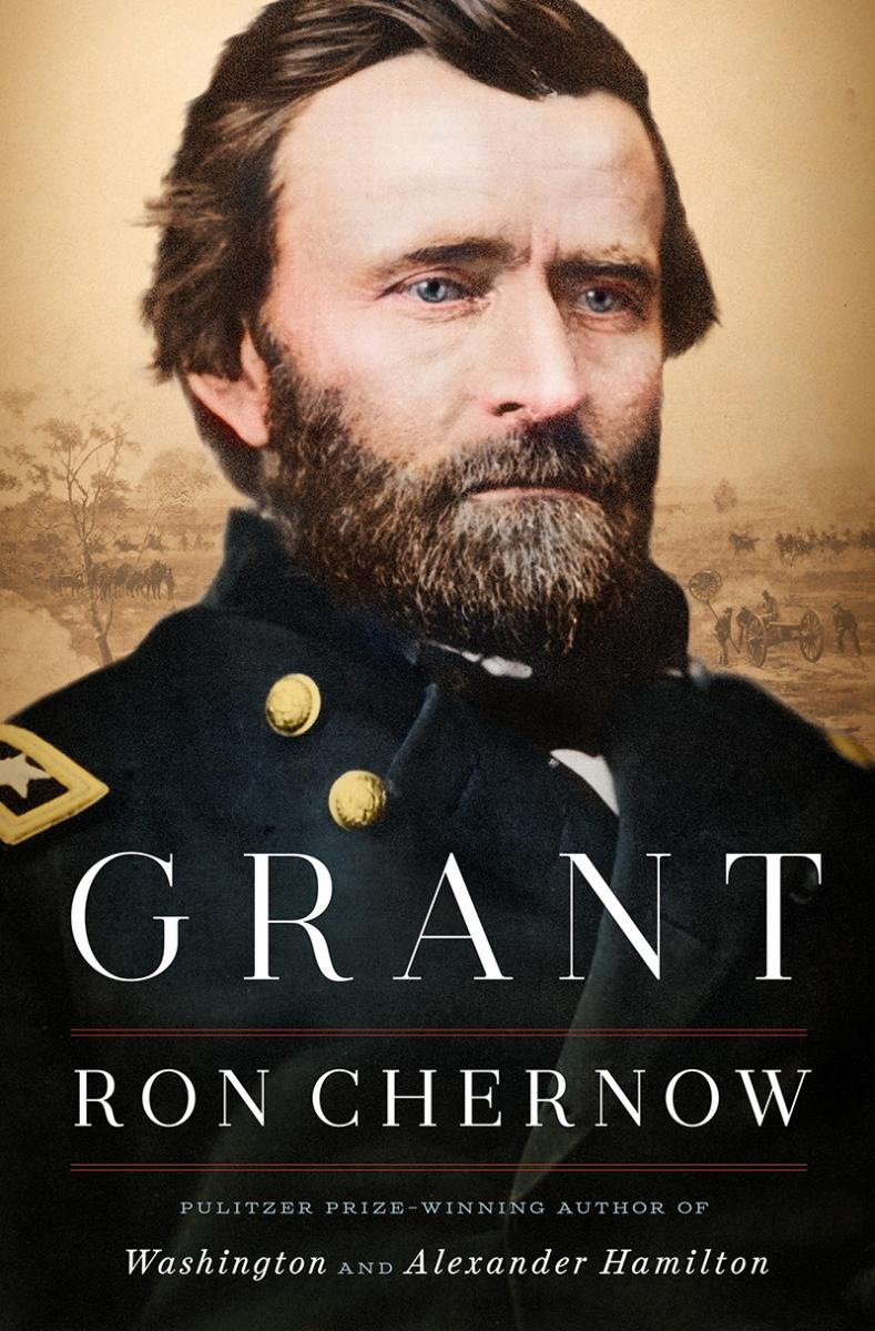 "Book cover of ""Grant"" biography"