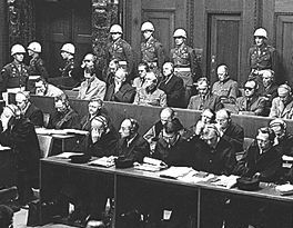 Nuremburg war crimes trial