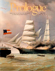 Fall 2001 Prologue cover