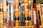 Freedmen's Bureau volumes in stacks