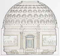 Architectural rendering of Rotunda