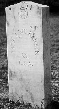 Confederate headstone