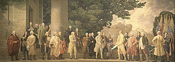 Declaration of Independence mural