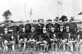 First Marine Battalion Officers