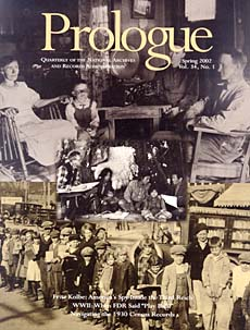 Spring 2002 Prologue Cover