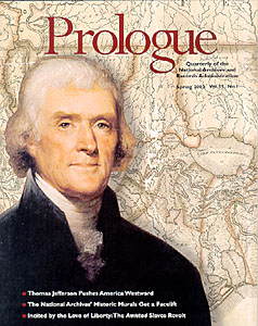 Spring 2003 Prologue Cover