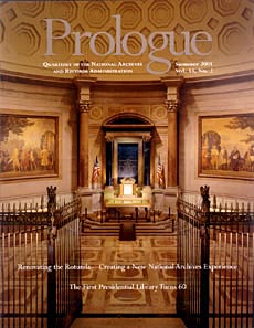 Summer 2001 Prologue cover