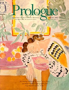 Summer 2002 Prologue Cover