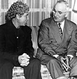 Harpo Marx and Harry Truman