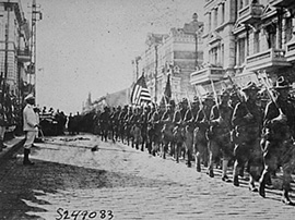 US Soldiers in Vladivostok, 1918