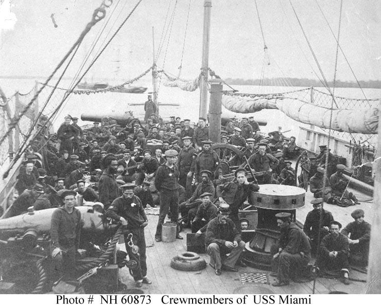 Black Men In Navy Blue During The Civil War National