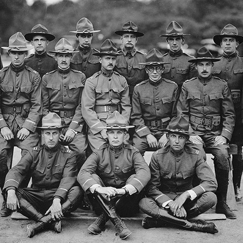 American Army officers in World War I