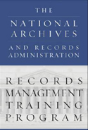 Records Management Training Logo