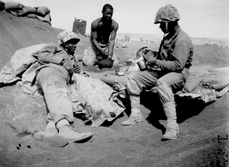19 - 23 Novembre 1943 : La bataille de Tarawa :  African-americans-wwii-102