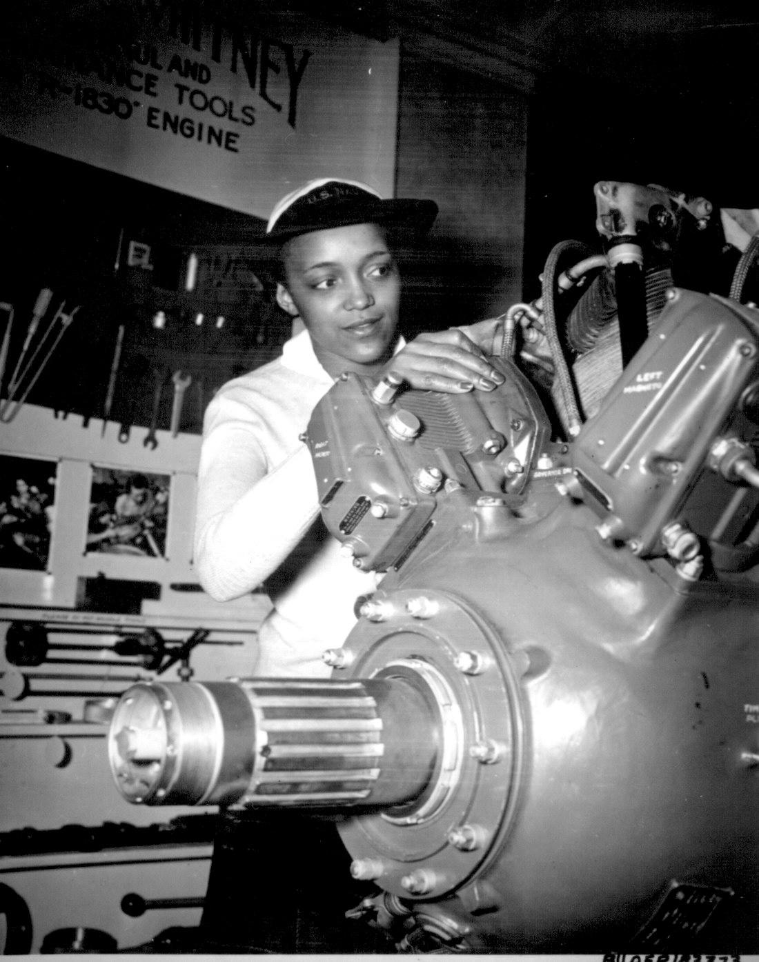 WAVE Apprentice Seaman Frances Bates