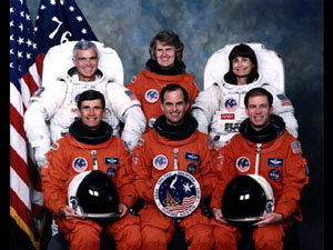 Shuttle Atlantis Crew STS-76