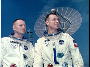 Neil Armstrong and David Scott