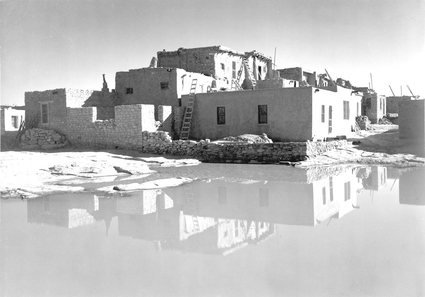 Ansel adams photographs for Ansel adams mural project