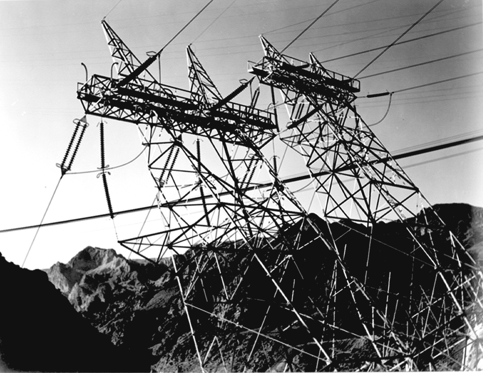 La Fotografa De Ansel Adams National Archives Mark Iii Western Snow Plow Wiring Boulder Dam