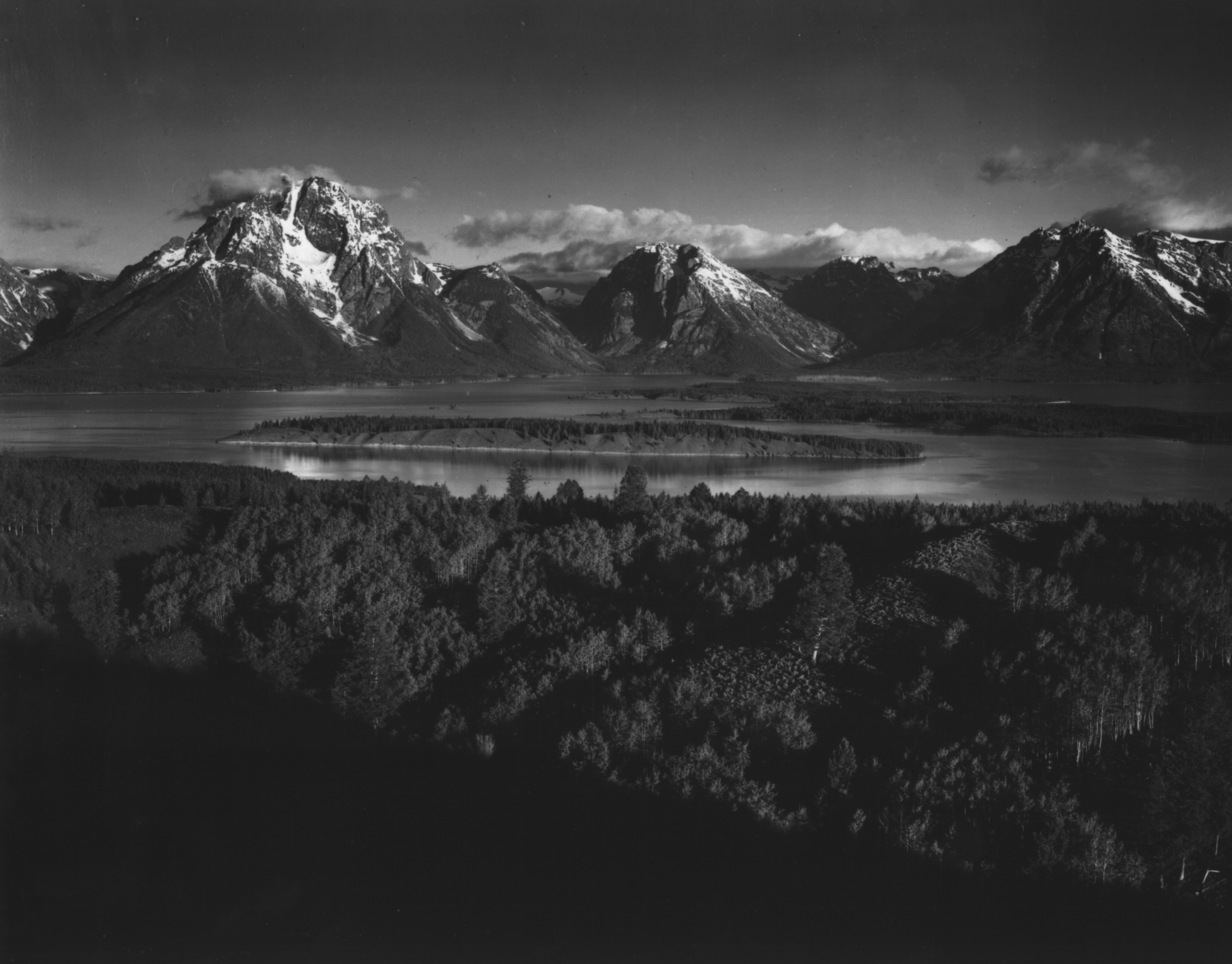 Ansel adams photographs national archives for Ansel adams the mural project prints