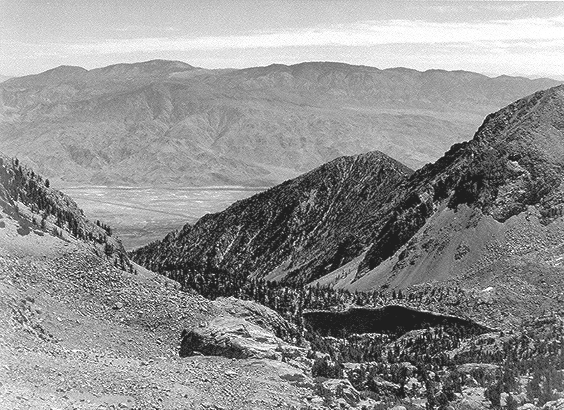 Owens valley from sawmill pass ansel adams pinterest for Ansel adams the mural project 1941 to 1942