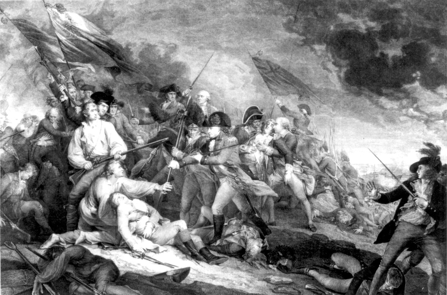 an analysis of the battle of bunker hill in american history