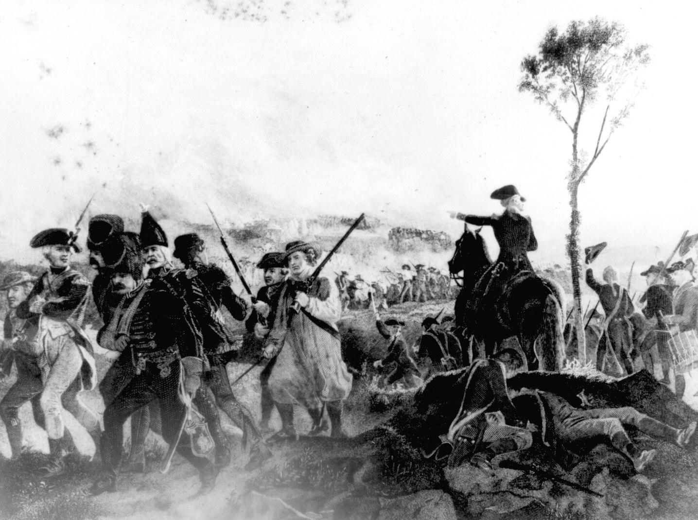 Redoubt   Battle of Saratoga  Don Troiani aploon