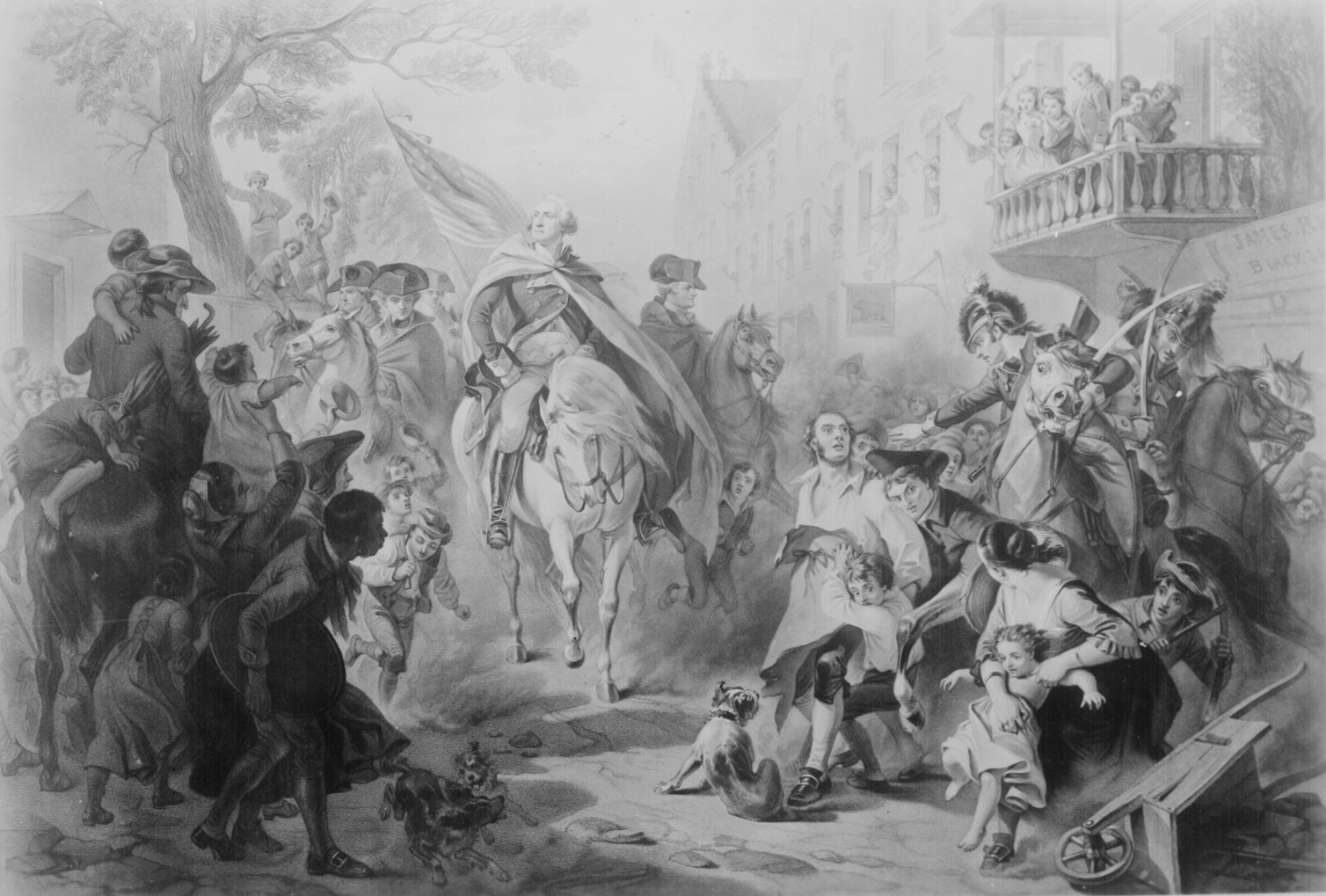 Pictures of the revolutionary war for 19 hamilton terrace nyc