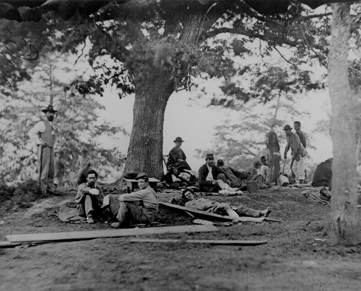 American Photography Digital Photograph Civil War Field of Gettysburg 1865