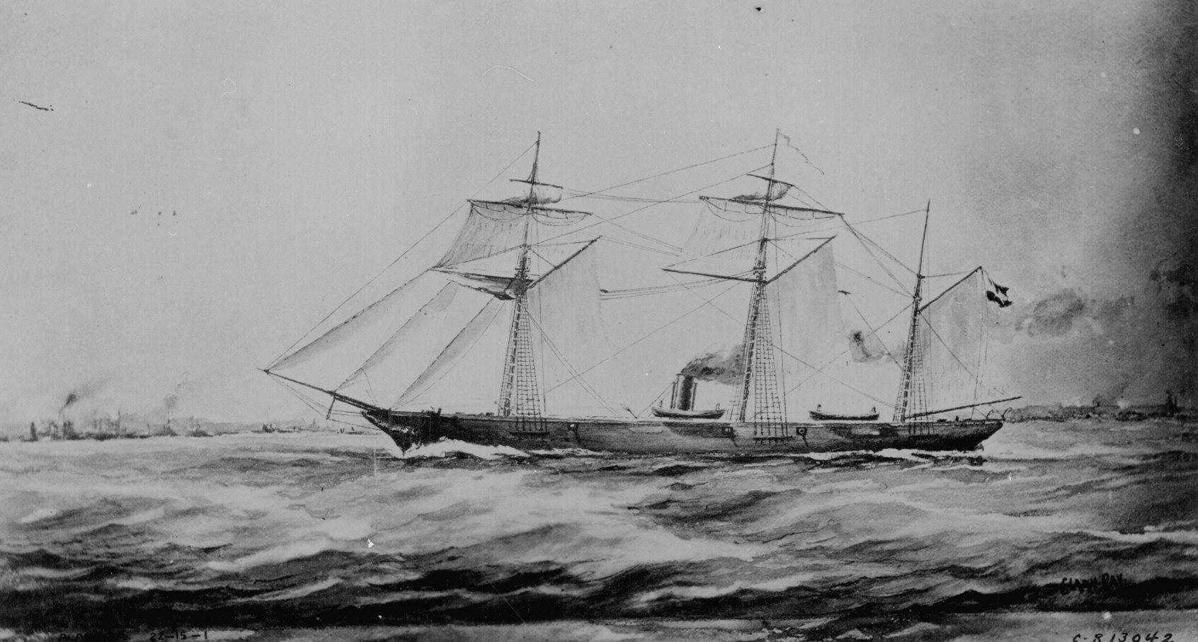 Cutter Americano - Shenandoah 1864 - Ship Model Kit - Wood (item ...