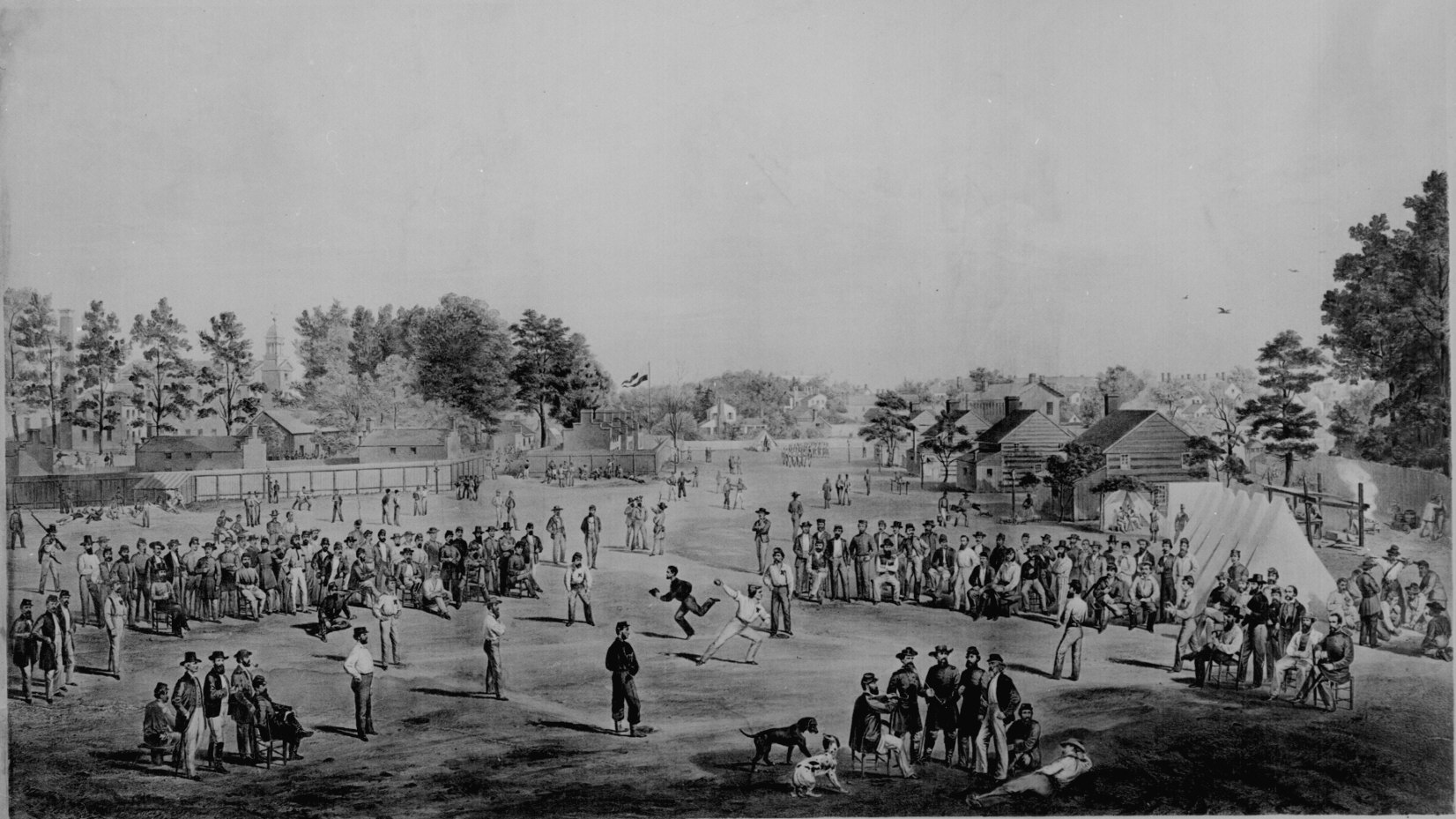 Confederate Camp Art Projects