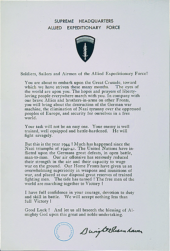 d-day research paper On may 8, 1944, general eisenhower, designated d-day as june 5, but because of bad weather he decided on june 4, to postpone the invasion to june 6.