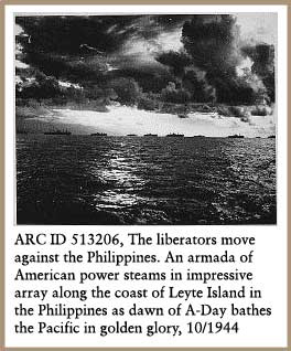 The liberators move against the Philippines.