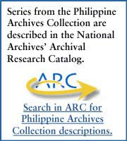 All of the series from the Philippine Archives Collection are described in the National Archives' Archival Research Catalog.  Click here to search in ARC for all Philippine Archive Collection descriptions.
