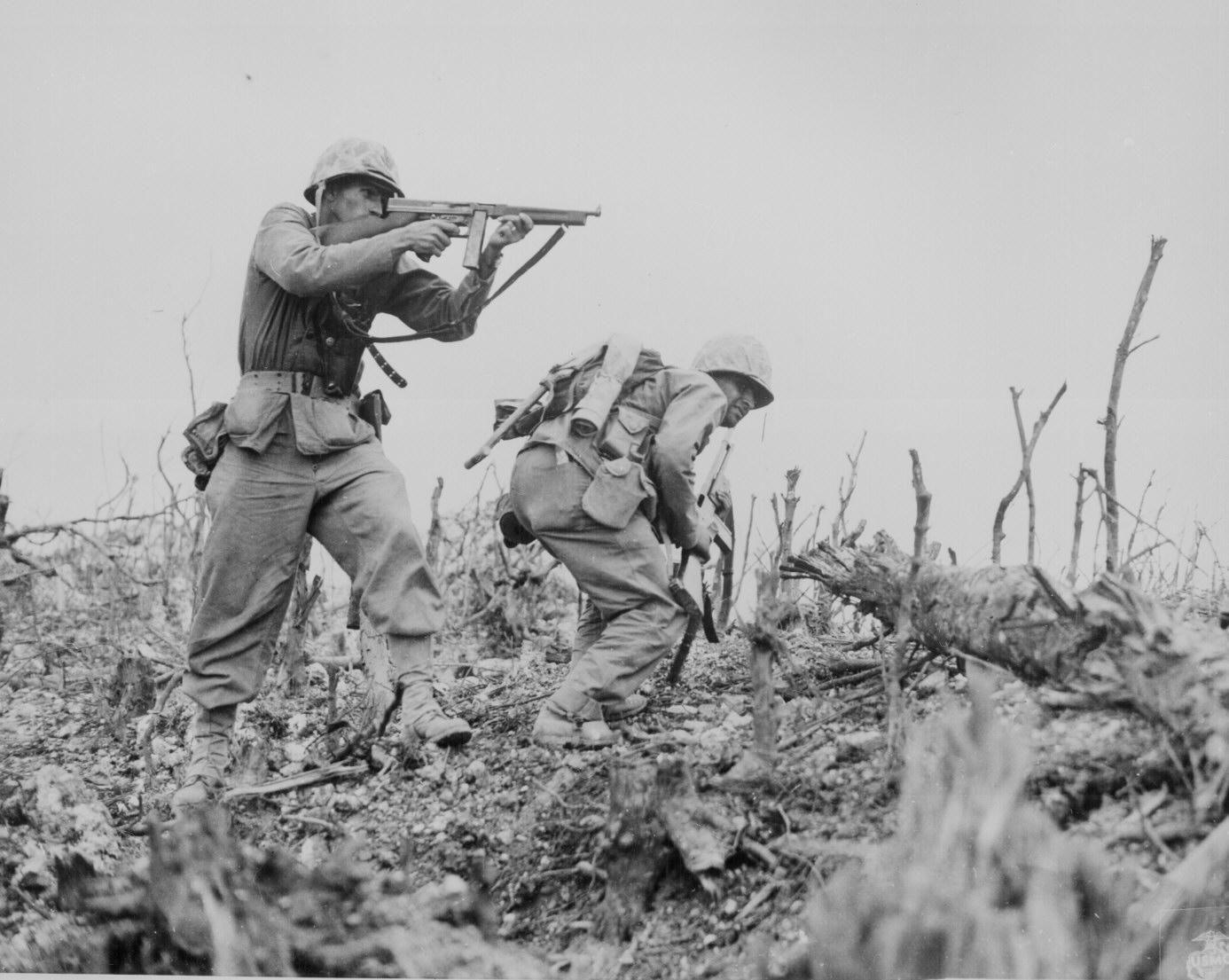 la bataille d'Iwo jima Ww2-158