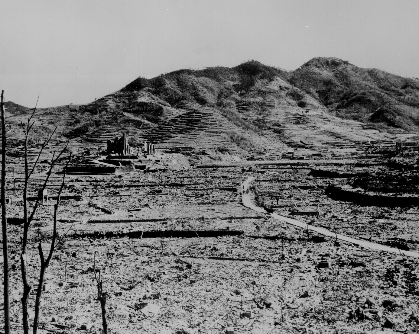 Bombing of Hiroshima and Nagasaki
