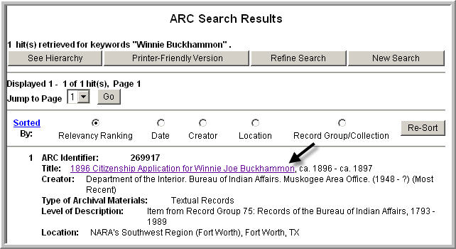 ARC Search