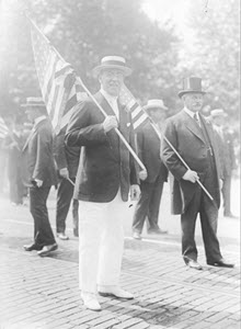 President Woodrow Wilson in Preparedness Parade, Washington, D.C
