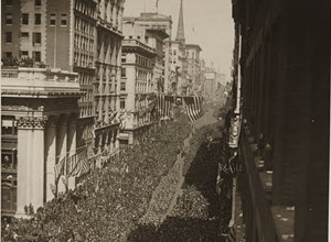 New York - 27th Division honored on Victorious Parade