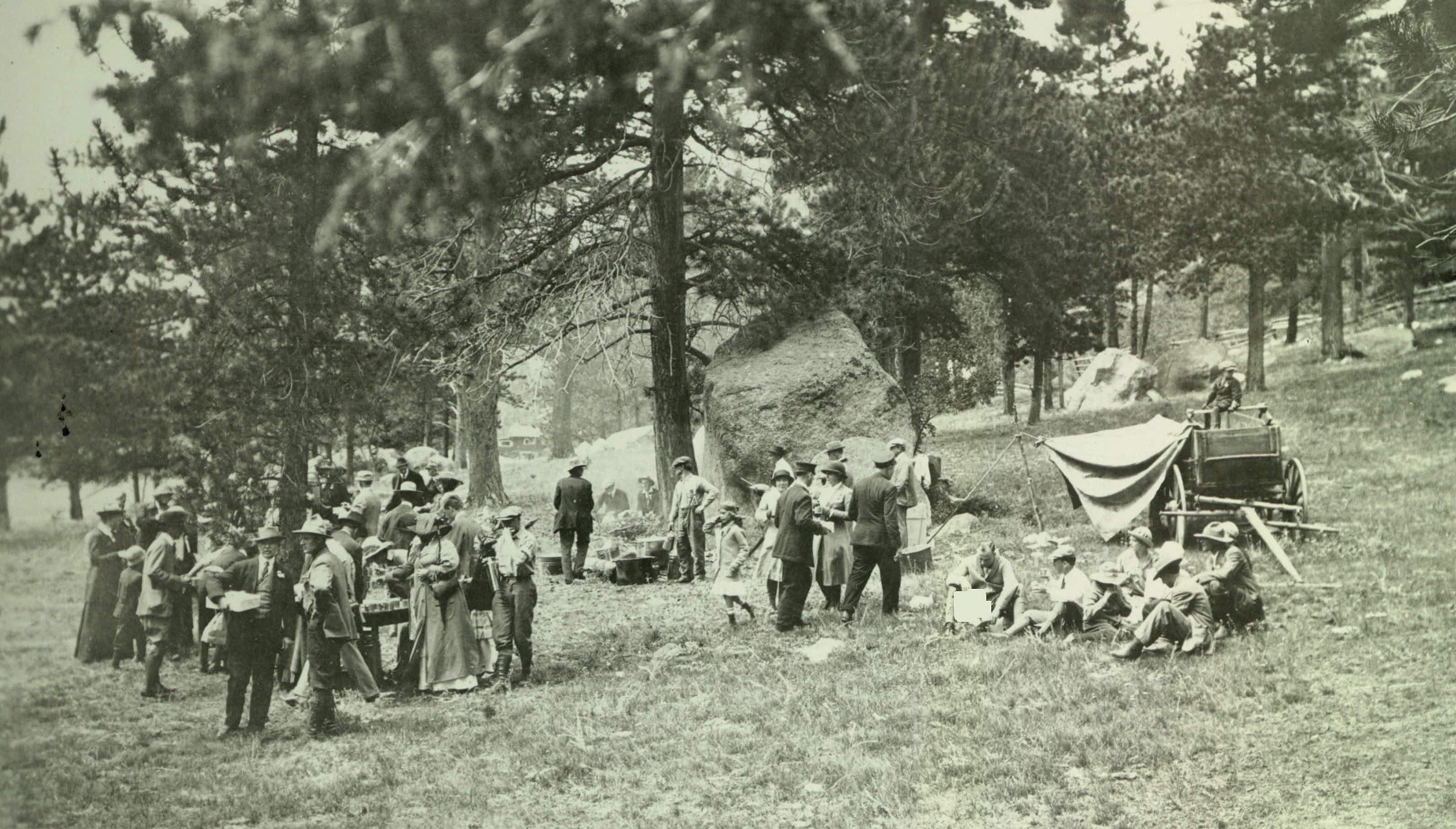 National archives at denver national archives dedication of rocky mountain national park near fall river lodge september 4 1915 rg 79 records of the national park service accession 8ns 79 94 148 malvernweather Gallery