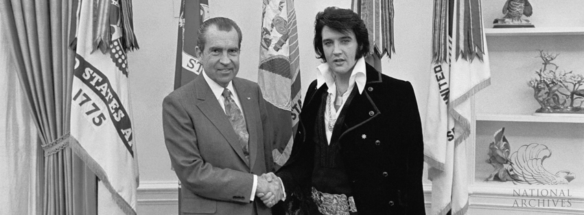 Facebook Banner - Nixon and Elvis