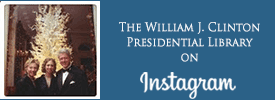 The William J. Clinton Presidential Library on Instagram